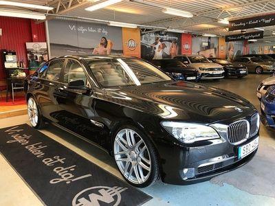 begagnad BMW 740 d xDrive 306hk Låga mil! Fint skick!