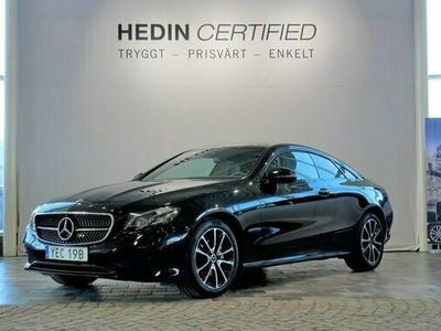 begagnad Mercedes E300 - BenzCoupe Nightpackage / Minnespaket / Burmeister