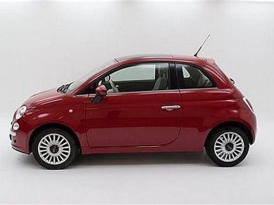 begagnad Fiat 500 1,2 Lounge Halvkombi