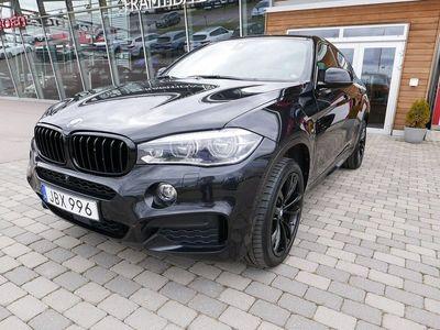 begagnad BMW X6 xDrive40d M-Sport 313hk Parkeringsvärmare-Dragkrok-En ägare !