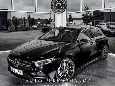 begagnad Mercedes A35 AMG A Benz4MATIC Fri hemleverans 2019, Halvkombi Pris 459 000 kr