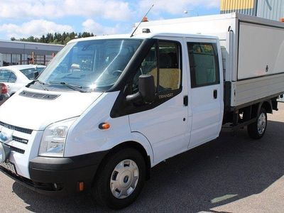begagnad Ford Transit Double Cab 2.4 TDCi 6-SITS -07