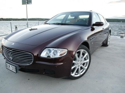 begagnad Maserati Quattroporte / 1 ägare /Sv.såld/Aut -07
