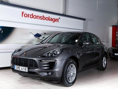 begagnad Porsche Macan S Diesel PDK 258HK Svensksåld