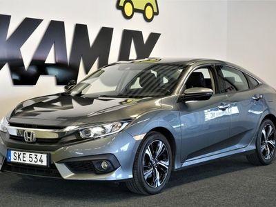 begagnad Honda Civic 1.6 i-DTEC 5dr (120hk) Navi
