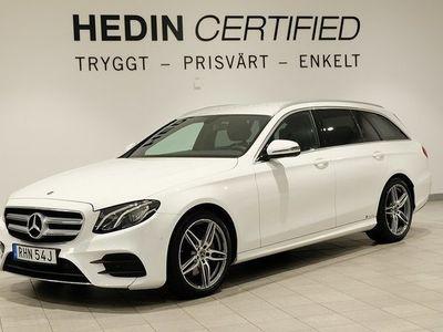begagnad Mercedes 220 Benz E D 4MATIC AMG, Värmare, Widescreen, 2 Års Nybils 2019, Personbil 399 900 kr