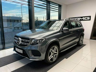 begagnad Mercedes GLS350 D 4MATIC AMG LINE / PANORAMA / VÄRMARE