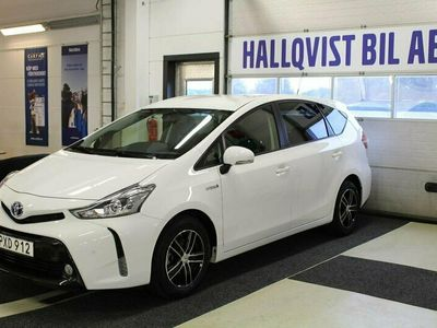 begagnad Toyota Prius+ Hybrid + 1.8 VVT-i + 3JM CVT 7-sits 136hk