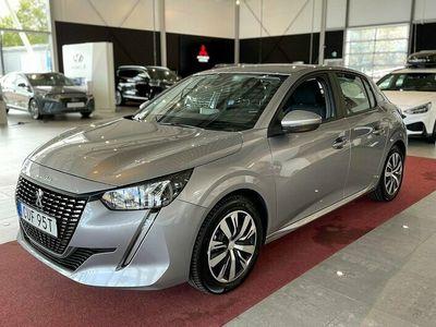 begagnad Peugeot 208 PureTech Active 2020, Halvkombi Pris 149 500 kr