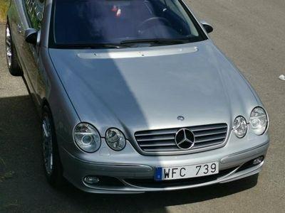 begagnad Mercedes CL500 långt mil 2 brukare