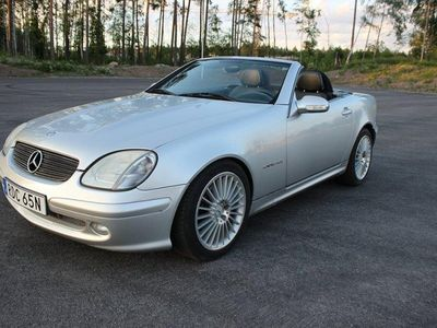 begagnad Mercedes SLK200 Kompressor 163hk