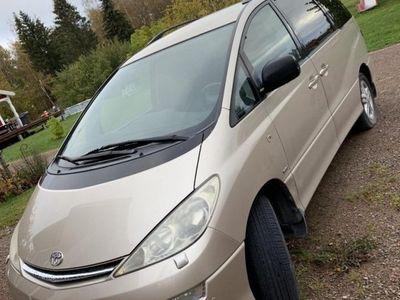 begagnad Toyota Previa 7-sits familjebuss