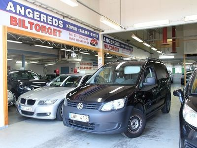 begagnad VW Caddy 1.6 TDI AUTOMAT NY BES 0%Rän -12