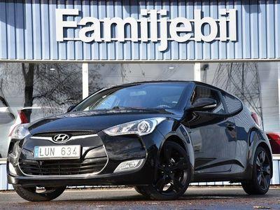 begagnad Hyundai Veloster Helskinn/B-Kamera/Keyless/Kamkedja/PDC
