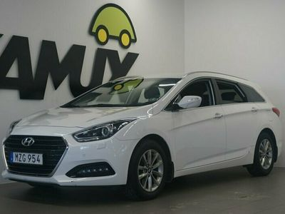begagnad Hyundai i40 cw 1.7 CRDi ComfortPlus S&V-Hjul 141hk