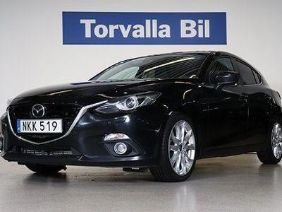 begagnad Mazda 3 Optimum 2.2DE Aut 150hk Inkl V-hjul