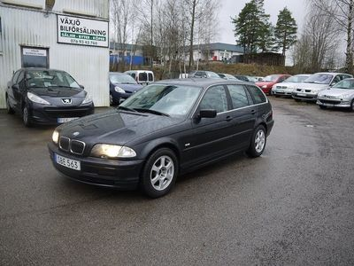 begagnad BMW 320 i Touring Automat 170hk/NY BES/KEDJA