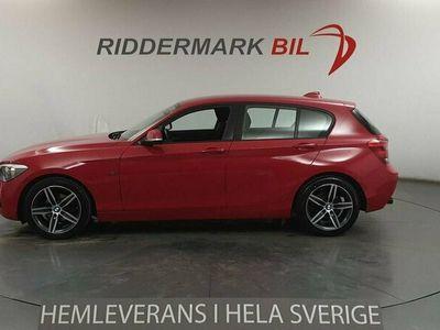 begagnad BMW 116 i 5-door Sport Line 136hk M-Värmare 2 Brukare Nyservad