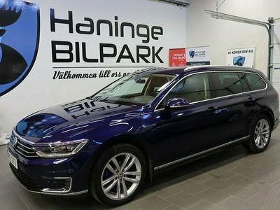 begagnad VW Passat Variant GTE DSG Executive Business Euro 6 218hk