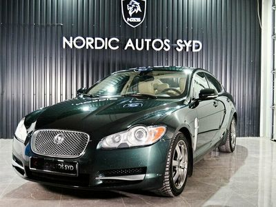 begagnad Jaguar XF 3.0 V6 Automat 241hk Svensksåld Navi Kamera