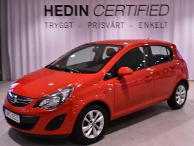 begagnad Opel Corsa 1,4 - 100 HK Auto Inkl V-hjul