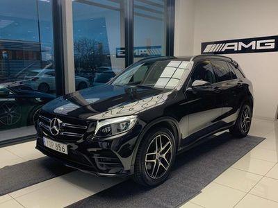 begagnad Mercedes 220 GLC BenzD 4MATIC VÄRMARE PANORAMA AMG LINE 2018, SUV Pris 319 900 kr
