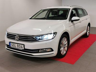 begagnad VW Passat Sportscombi 2.0 150hk /Skinn/Drag