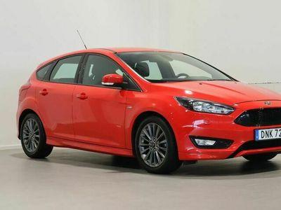 begagnad Ford Focus St-Line 1.0 EcoBoost Manuell 125hk