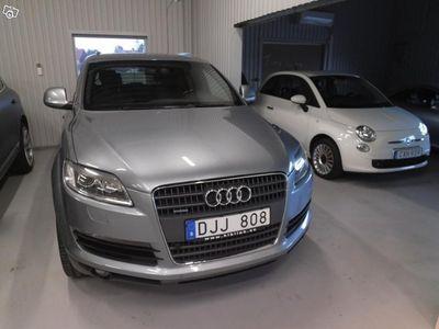 begagnad Audi Q7 3,0 TDI Q 240hk bytes mot annan rolig -09