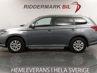begagnad Mitsubishi Outlander P-HEV 2.0 Hybrid 4WD Navi Skinn 2016, SUV 254 800 kr