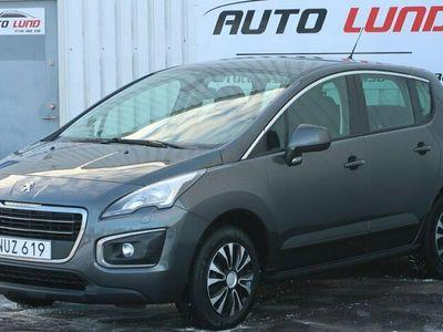 begagnad Peugeot 3008 1.6 BlueHDi Euro 6 Drag 1 Ägare NYSERVAD NYBES