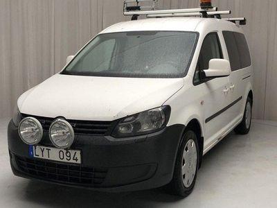 begagnad VW Caddy Maxi Life 1.6 TDI Comfort 7-sits 102hk
