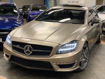 begagnad Mercedes CLS63 AMG AMG Speedshift MCT 557HK PERFORMANCE