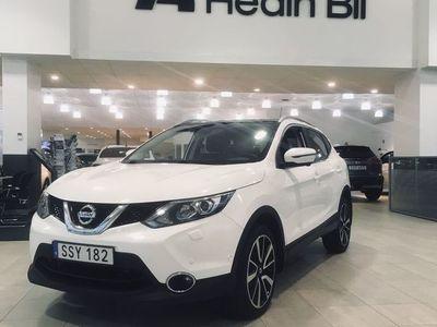 "begagnad Nissan Qashqai 1.5 dCi 110 hk Tekna Design Pack 19"" dragkrok"