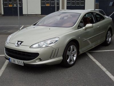 begagnad Peugeot 407 Coupe 2.7 HDi Pack Tiptronic Sportkupé