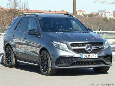 begagnad Mercedes GLE63 AMG AMGS 4M 4MATIC 585hk Momsbil SE UTR.