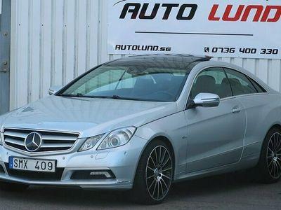 begagnad Mercedes E350 CDI Coupé BE FULLUTRUS NYBES
