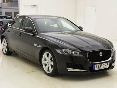 begagnad Jaguar XF 3.0 V6 Supercharged RWD 300hk Skinn Drag