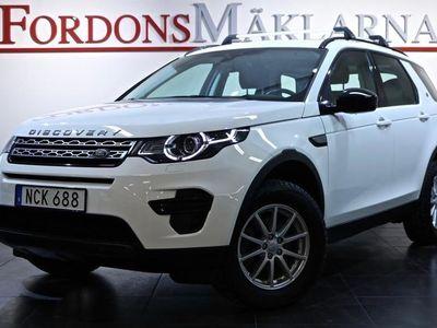 begagnad Land Rover Discovery Sport 2,0 TD4 AWD GPS 3-ÅRS GARANTI