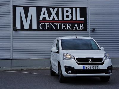 begagnad Peugeot Partner Electric 3-Sits Van 22.5 kWh