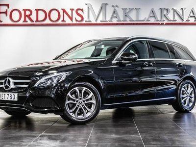 begagnad Mercedes 220 Benz C T d 4MATIC AUT NAVI DRAG FRI HEMLEVERANS 2018, Personbil 279 900 kr