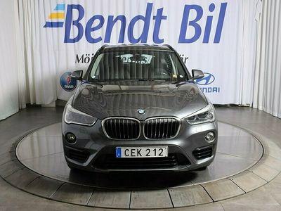 begagnad BMW X1 18d xDrive Model Sport