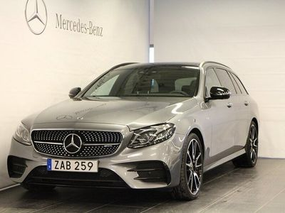 begagnad Mercedes E43 AMG AMGT 4M 4MATIC Kombi, Värmare, Surround, 360