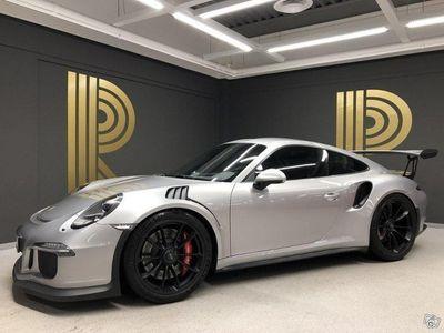 begagnad Porsche 911 GT3 RS 911(500hk) GT-Silver / 918 Stolar