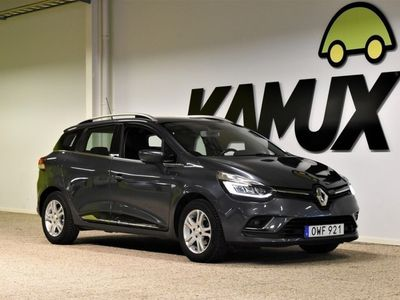 begagnad Renault Clio GrandTour 0.9 TCe Manuell, 90hk, -17