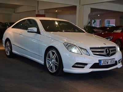 brugt Mercedes 350 E-KLASSCDI Coupé AMG Sport 265hk Aut