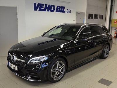 begagnad Mercedes 220 Benz C d 4MATIC Automat Navigation Dragkrok AMG Line 2019, Personbil 385 000 kr