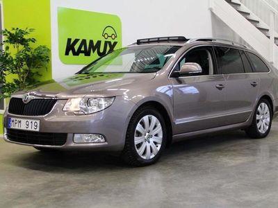 begagnad Skoda Superb V6 4x4 DSG Elegance Drag, Webasto 2011, Kombi 128 800 kr