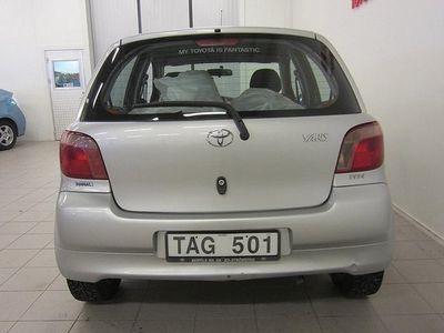 begagnad Toyota Yaris 1,3 5-dr 2002, Halvkombi 29 000 kr