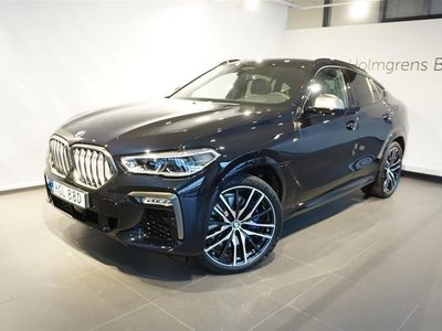 begagnad BMW X6 M50i Innovation Bowers & Wilkings Panorama Adaptiv M Fjädring Professional Massage